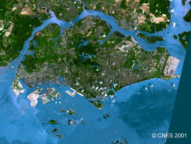 Satellite Views And Political Maps Of SouthEast Asia - Asia satellite map